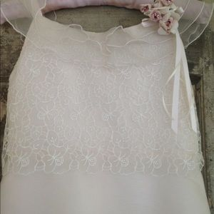 Girls Confirmation dress in pale pink